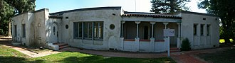 Rancho Camulos - The small adobe that serves as the visitor center.