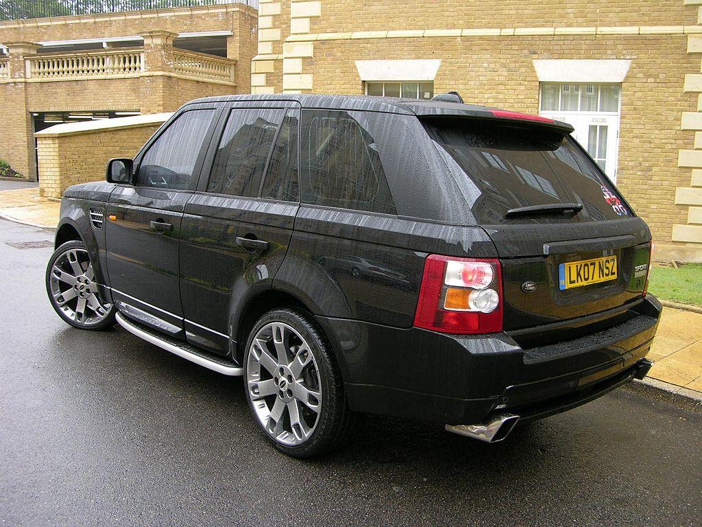 File Range Rover Sport Hst 4 2 V8 Supercharged Flickr