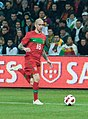Raul Meireles – Portugal vs. Argentina, 9th February 2011 (1).jpg