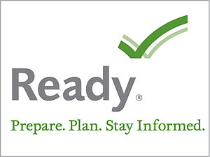 Full Ready.gov logo with tagline and trademark...