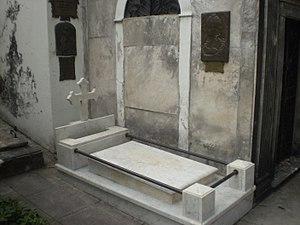 María de los Remedios de Escalada - Mrs. San Martín's Recoleta tomb