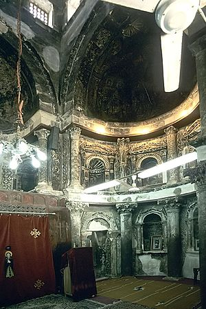 Red Monastery - Church interior