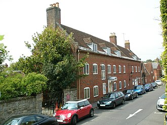 History of Christchurch, Dorset - The old town workhouse in Quay Road. Now the Red House Museum.