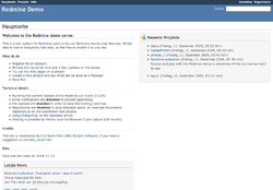 Screenshot demo.redmine.org