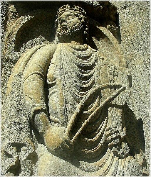 Rei David, Santiago de Compostela