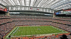 NRG Stadium, home of the Texans