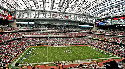NRG Stadium is the home of the Houston Texans Reliantstadium.jpg