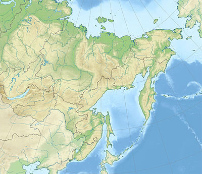 Location map Russia Far Eastern Federal District