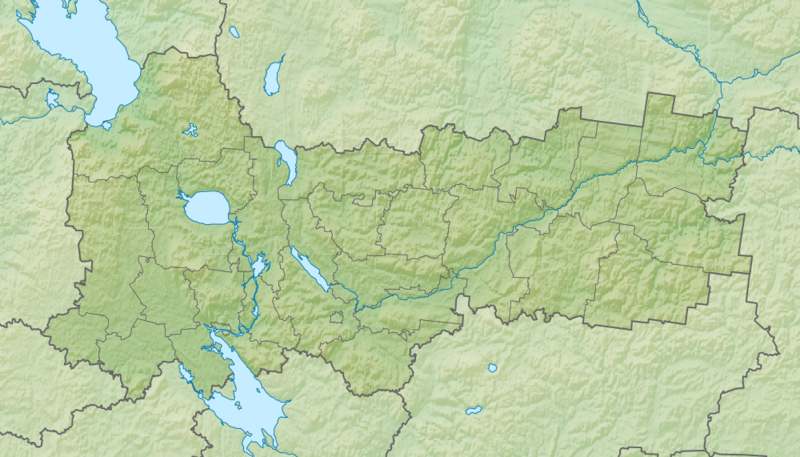 Файл:Relief Map of Vologda Oblast.png