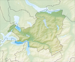 Vorderthal is located in Canton of Schwyz