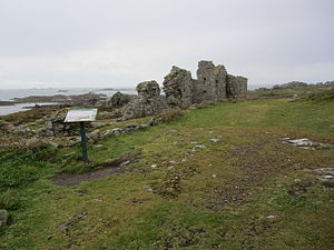 Lihou - The ruins of St Mary's Priory