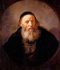 Rembrandt - Portrait of a Rabbi - Royal Collection UK.jpg