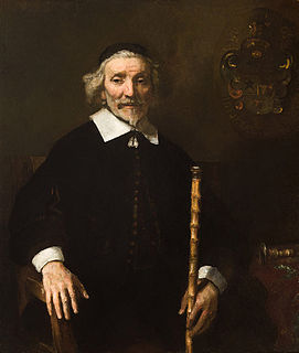 <i>Portrait of Dirck van Os</i> painting by Rembrandt