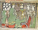 Renewal of the protection promise between Peter I of Aragon and Pope Urban II.jpg
