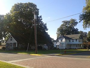West Point, Virginia - Houses in a residential section of West Point