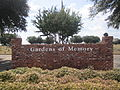 Revised Gardens of Memory sign, Minden, LA IMG 4972.JPG