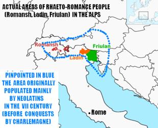 Risultati immagini per la lingua romancia e vocaboli romanci