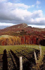Milseburg von Westen