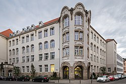 Ricarda-Huch-Schule school Ulrichstrasse Bonifatiusplatz List Hannover Germany.jpg