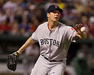 Rich Hill (pitcher) - Rich Hill on May 21, 2012