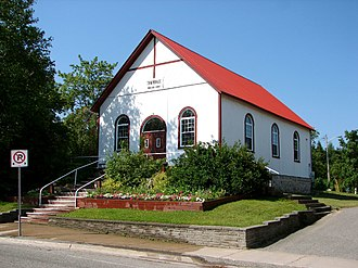 St. Joseph, Ontario - Town hall in Richards Landing