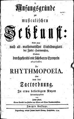 "Titelseite der ""Anfangsgründe"" (Quelle: Wikimedia)"