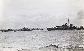 Right to left- HMS Nonpareil, HMS Offa and HMS Norseman at Scapa Flow-25-June 1942.jpg