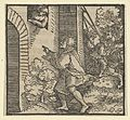 Rinaldo Robbed, Standing in front of the Widow's House, from The Decameron MET DP849312.jpg