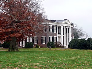 Spring Hill, Tennessee - Rippavilla Plantation, December 2009.