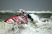 "Die ""Windsurflegende"" Robby Naish vor Sylt"