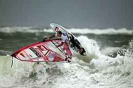 Robby Naish alla Windsurf World Cup di Sylt (2006).