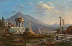 Robert Scott Duncanson: Le Vésuve et Pompéi