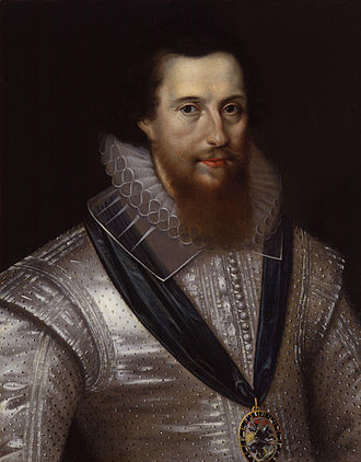 Essex's Rebellion - Portrait of the Earl of Essex by Marcus Gheeraerts the Younger