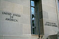 Robert F. Kennedy Department of Justice Building - Office of AG signage - 2723.jpg
