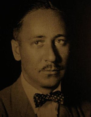 Robert Benchley, photographed from Vanity Fair