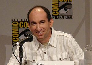 Stargate Atlantis - Cooper, writer and executive producer for the show with Wright
