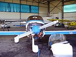 Robin DR400-140B Dauphin - front view.jpg