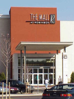 The Mall at Robinson - One of the main mall entrances