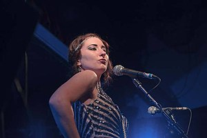 Robyn Adele Anderson - Anderson with Postmodern Jukebox in 2014
