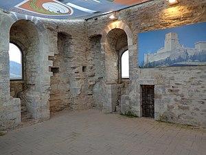Rocca Maggiore - The interior
