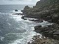 Rocks at Porthguarnon - geograph.org.uk - 912365.jpg