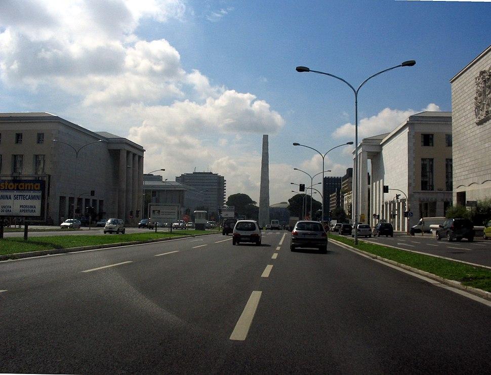 Roma - EUR - Obelisco EUR