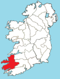Roman Catholic Diocese of Kerry map.png