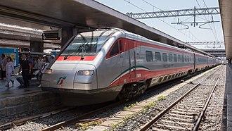 Pendolino - ETR 480 in Roma Termini railway station