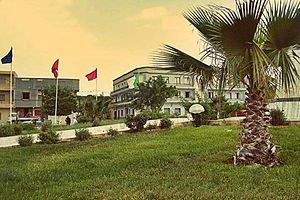 El Bayadh - Image: Rond point principal El Bayadh centre ville