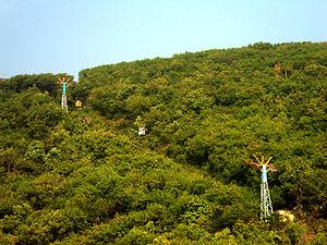 Aerial tramway - Tramway on Kailasagiri, Visakhapatnam