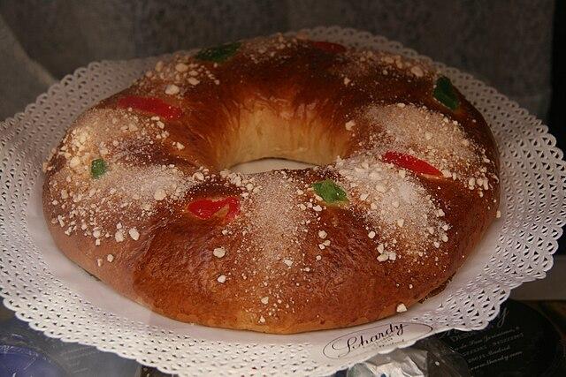 Receta de roscón de Reyes para dulces navideños