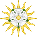 Rose en Soleil Badge of York.svg