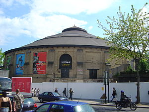 Roundhouse (venue) - The Roundhouse during renovation in 2005