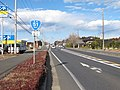 Route 51 in Momiyama,Hokota city,Japan.JPG